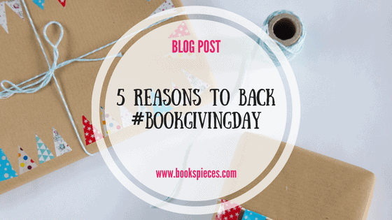 5 reasons to back #BookGivingDay