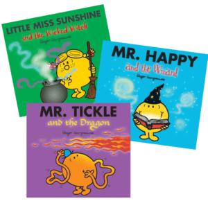 Mr Men Halloween books, 3 for £5