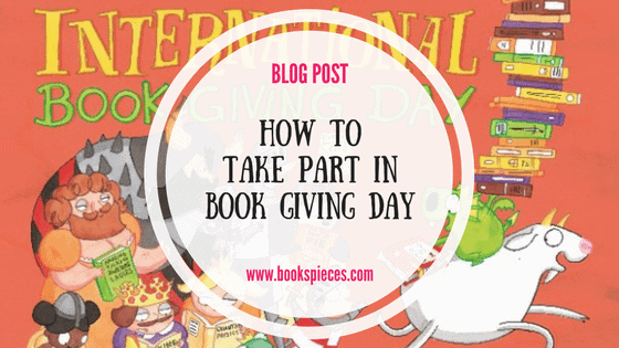 How to take part in Book Giving Day