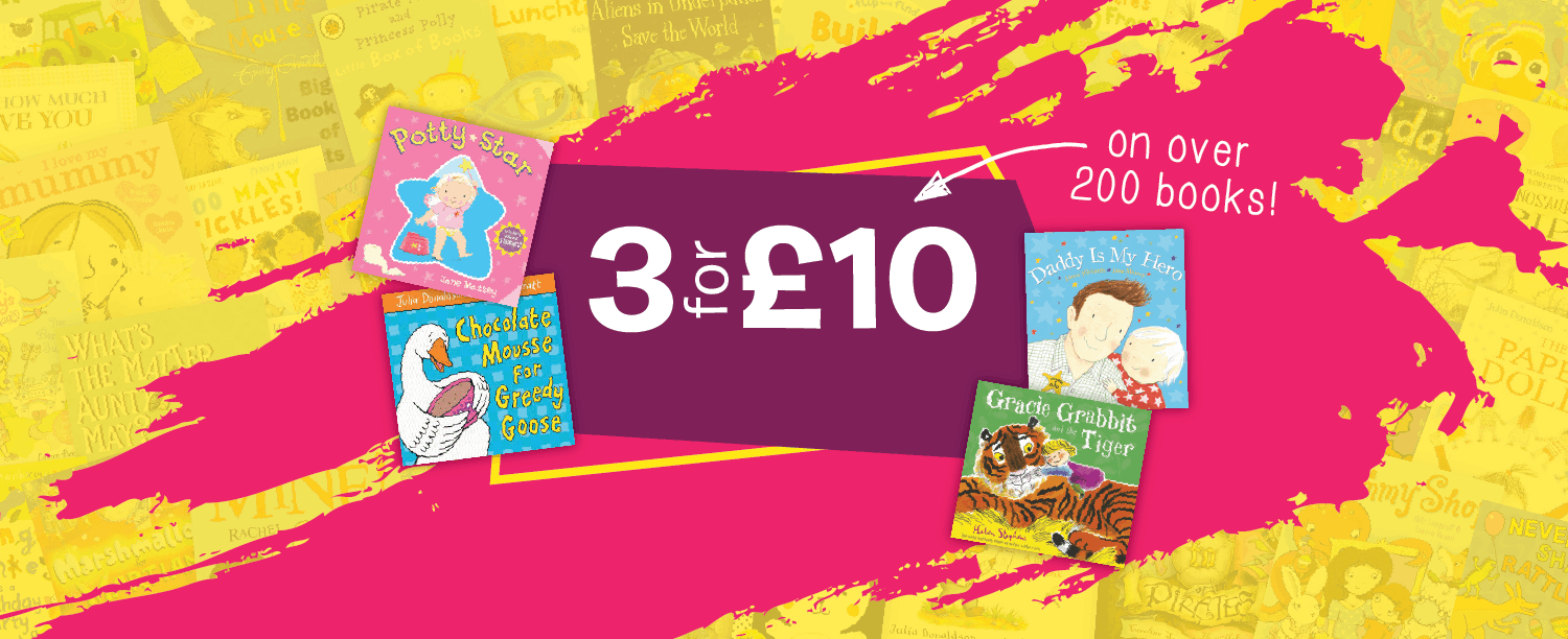 Children's books 3 for £10
