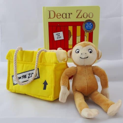 Dear Zoo Monkey gift set