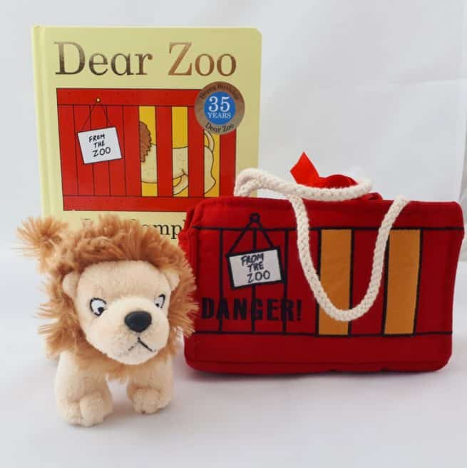 Dear Zoo lion gift set