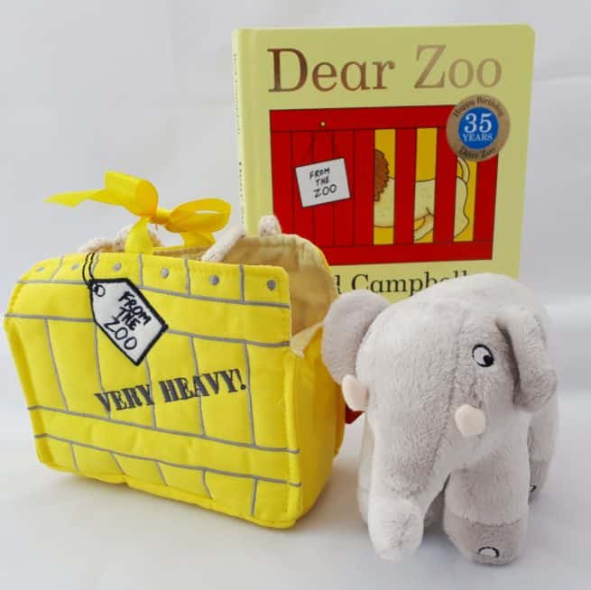Dear Zoo gift set - cuddly toy elephant and Dear Zoo lift-the-flap board book