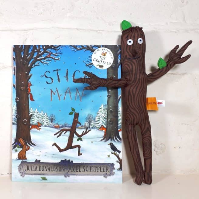 Stick Man soft toy and book gift set
