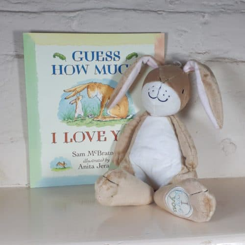 Guess How Much I Love You Nutbrown Hare gift set with book||||Gruffalo gift set - soft toy and book