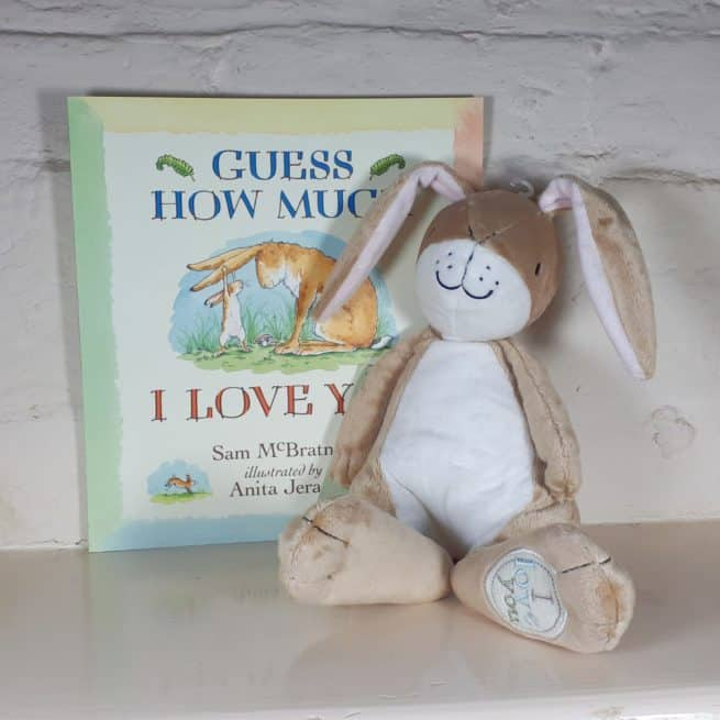 Guess How Much I Love You Nutbrown Hare gift set with book    Gruffalo gift set - soft toy and book