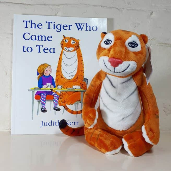 Tiger who came to tea soft toy gift set