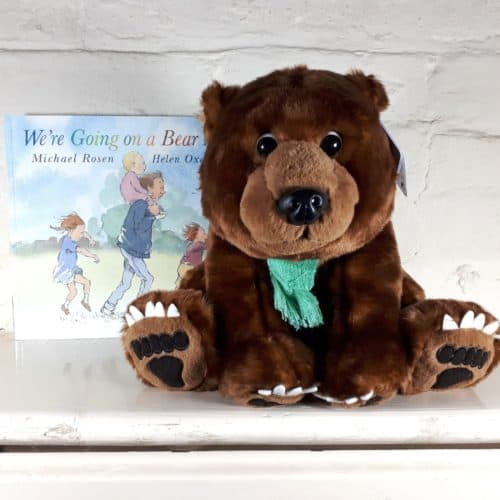We're Going on a Bear Hunt large soft toy and book gift set