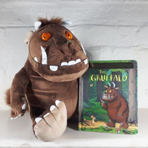 Large Gruffalo soft toy gift set