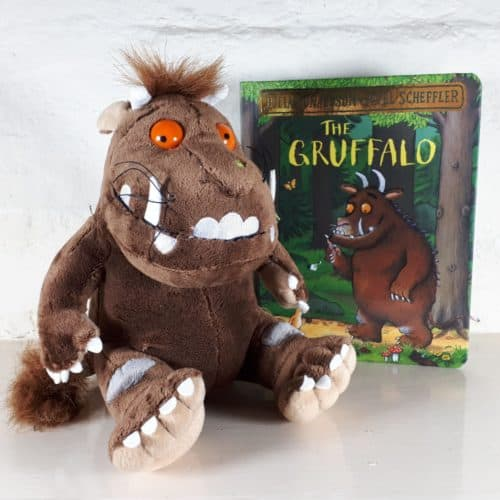 Gruffalo gift set - soft toy and book