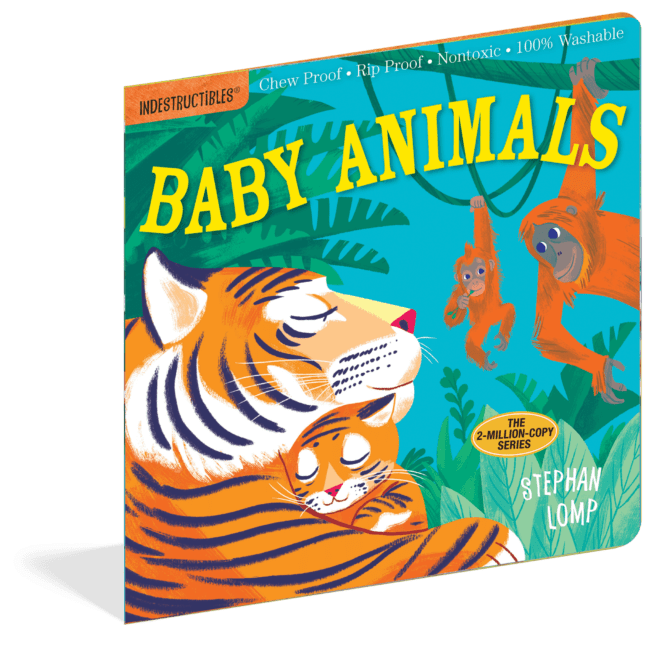 Baby Animals (Indestructibles) - a chewable book
