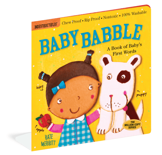Baby Babble Indestructibles baby book