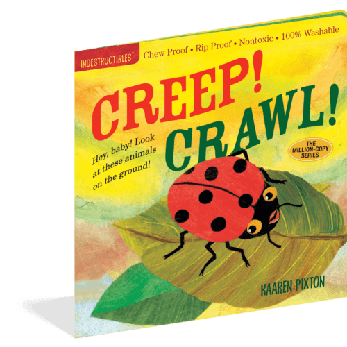Creep Crawl Indestructibles baby book|Mary had a Little Lamb Indestructibles baby book