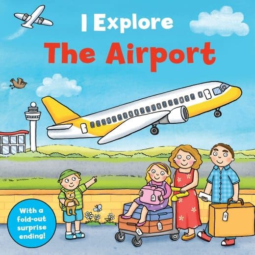 I Explore the Airport board book for toddlers|Usborne That's Not My Tractor
