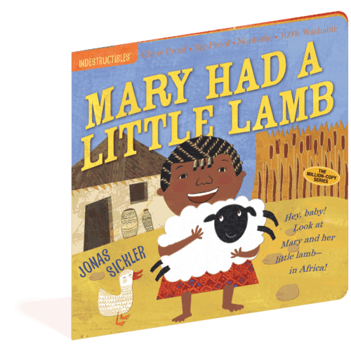 Mary had a Little Lamb Indestructibles baby book