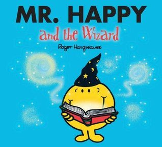 Mr Happy and the Wizard Mr Men book, just £2