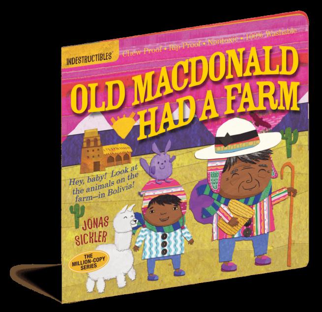 Old Macdonald had a Farm Indestructibles baby book
