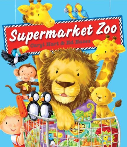 Supermarket Zoo Storybook