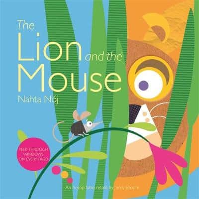 The Lion and the Mouse storybook