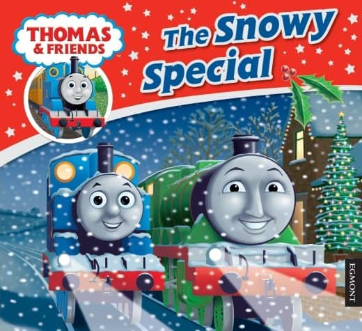 Thomas the Tank Engine The Snowy Special book