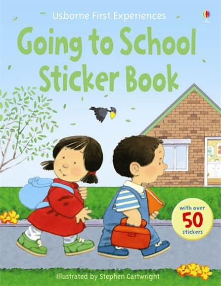 Usborne Going to School Sticker Book