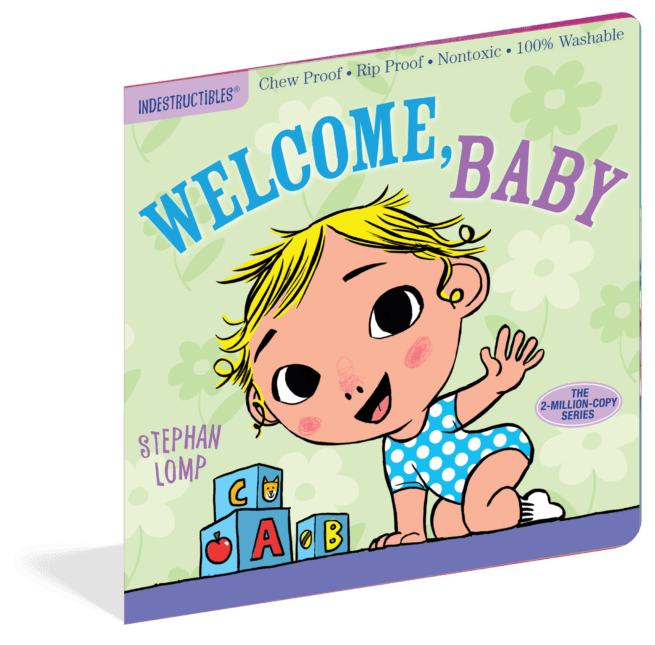 Welcome Baby (Indestructibles) - a chewable