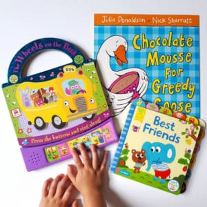 Books & Pieces Storybook Subscription UK monthly children's book subscription