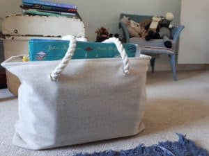 How to store your children's books - a big bag of books