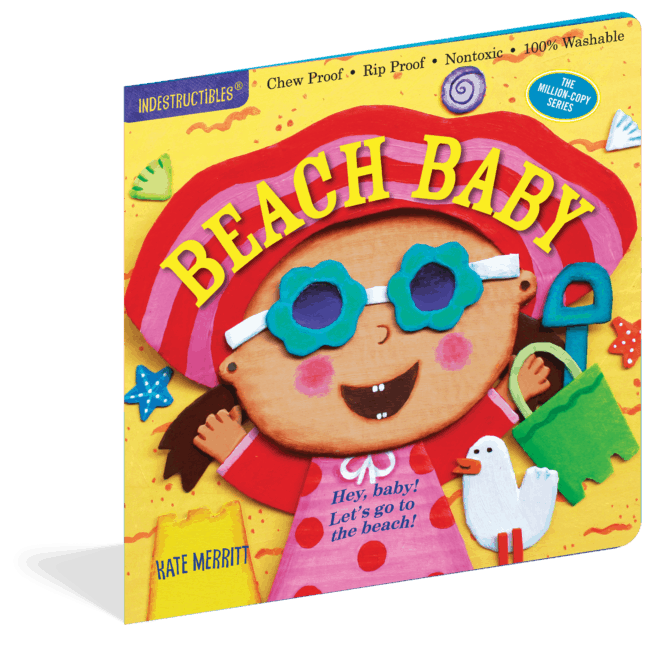 Indestructibles Beach Baby rip-proof baby book