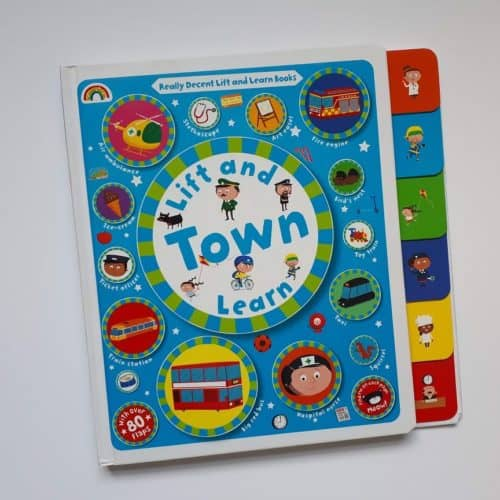 Lift and Learn Town lift the flap book 