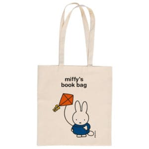 How to store your children's books - a small Miffy bag