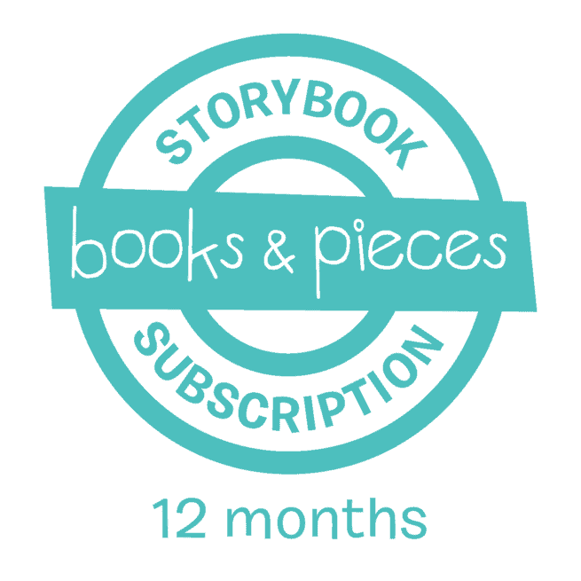 Storybook Subscription 12 month children's book subscription gift