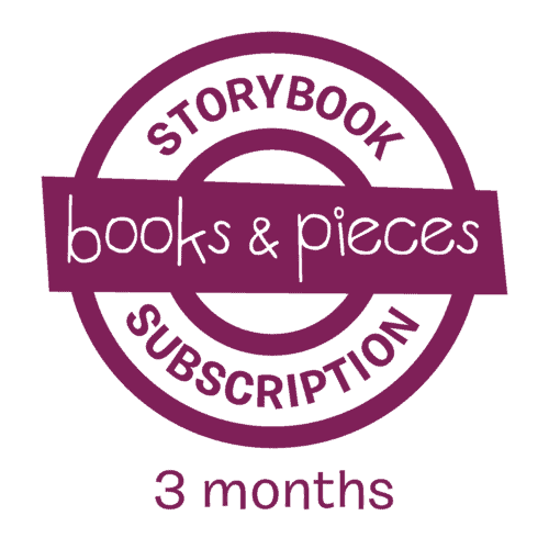 3 month children's storybook subscription