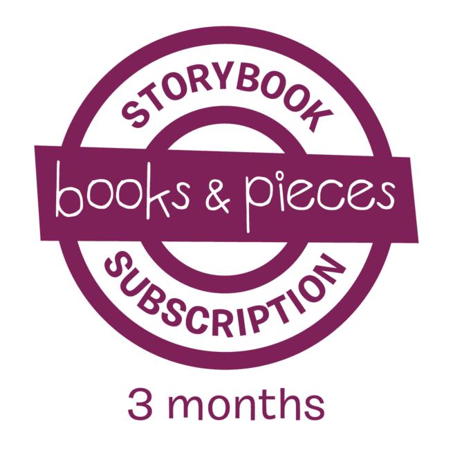 3 month children's storybook subscription