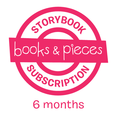 Storybook Subscription 6 month children's books subscription gift