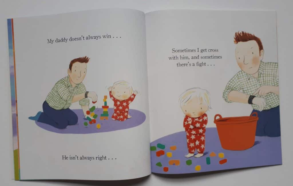 Daddy is my hero book