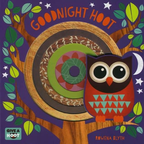 Goodnight Hoot bedtime board book