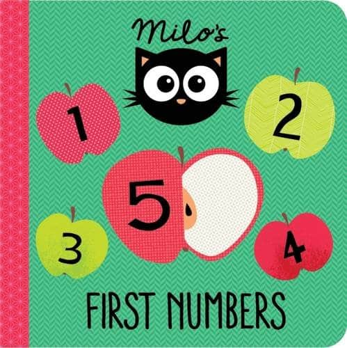 Milo's First Numbers, board book for babies and toddlers