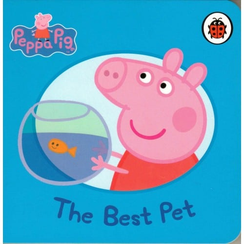Peppa Pig The Best Pet, small board book