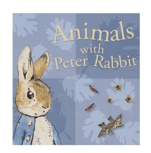 Animals with Peter Rabbit, baby board book