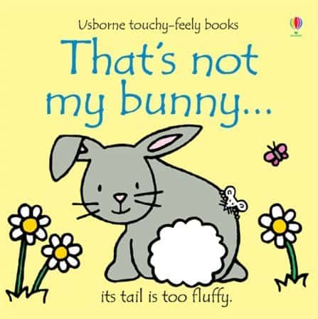 Usborne That's Not My Bunny touch and feel baby book