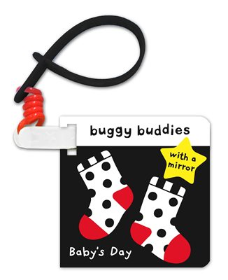 Buggy Buddies Baby's Day black and white buggy book