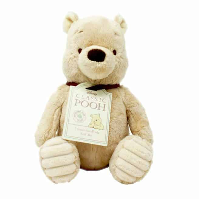 Classic Winnie the Pooh soft toy by Rainbow Designs