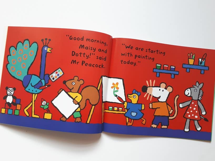 Maisy Goes to Nusery - a book to prepare young children for nursery