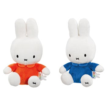 "Miffy 8"" cuddly bean toys"