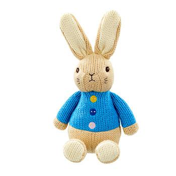 Made With Love Peter Rabbit knitted baby toy