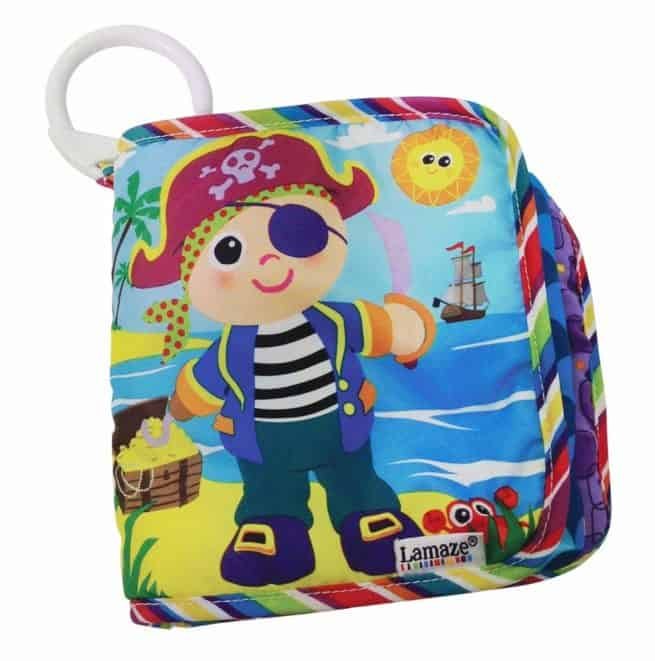 Lamaze Yo Ho Horace cloth book