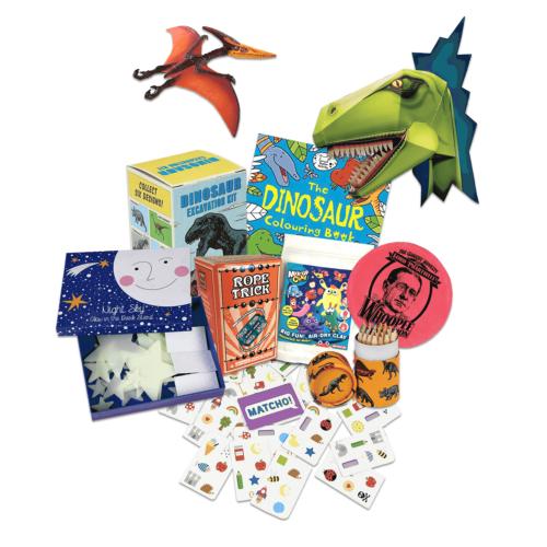 Stocking Fairy Dinosaur sample set