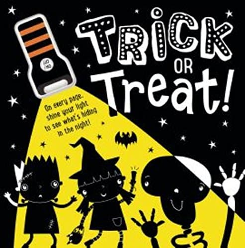 Trick or Treat Halloween torch book