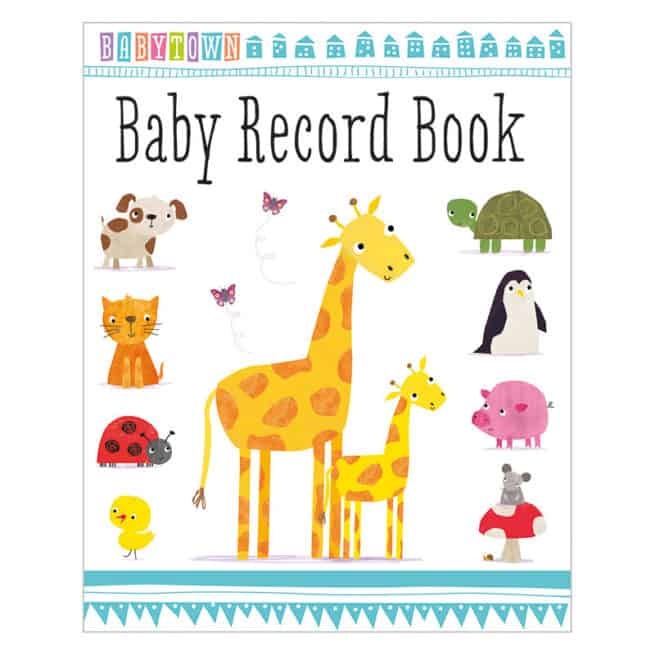 Baby Town Baby Record Book